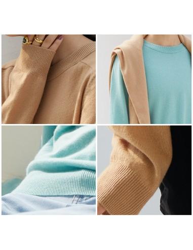 Mint or Beige Cashmere & Merino wool...